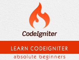 CodeIgniter - Quick Guide