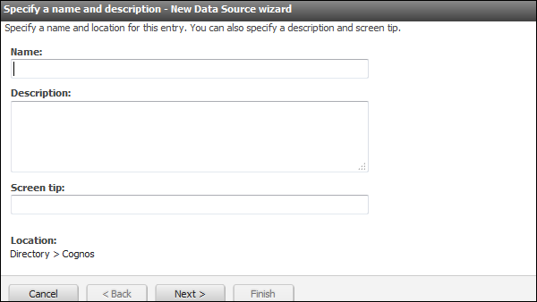 New Data Source Wizard
