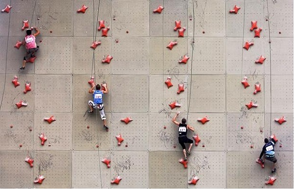 Competitive Climbing