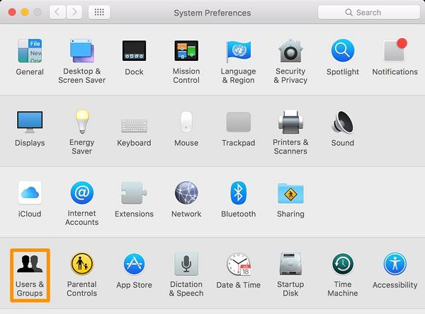 Apple menu