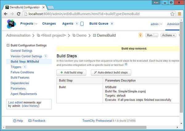 Build Step Ms Build