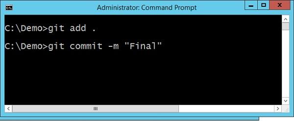 Final Git Command