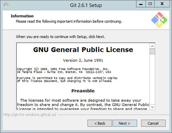 General License agreement.
