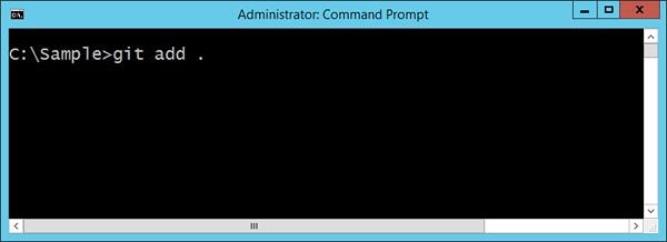 GIT Add Command