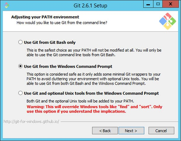 Git From Windows