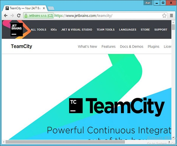 Official Website of Teamcity