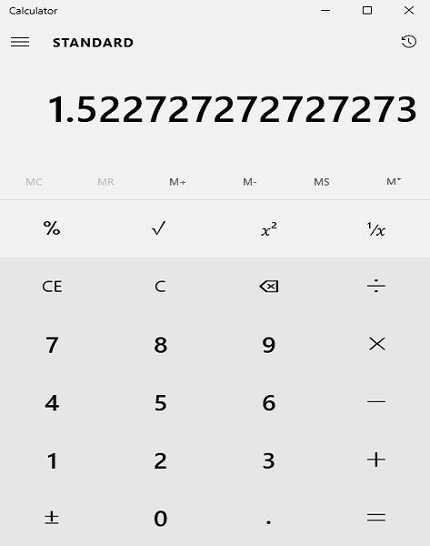 Calculator Example 2