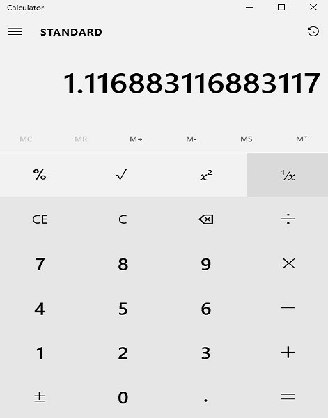 Calculator Example 3