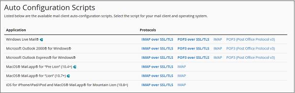 Configuration Scripts