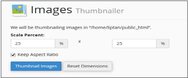 Images Thumbnailer