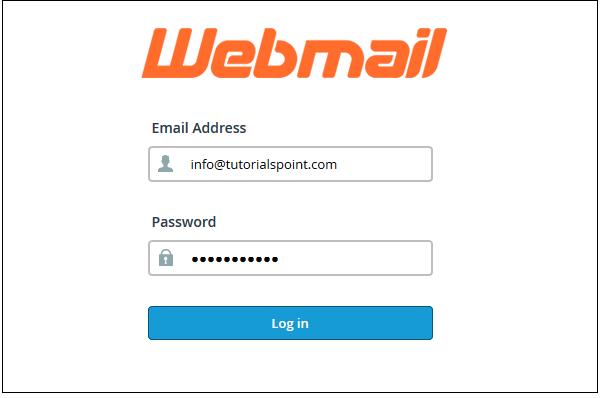 Web login