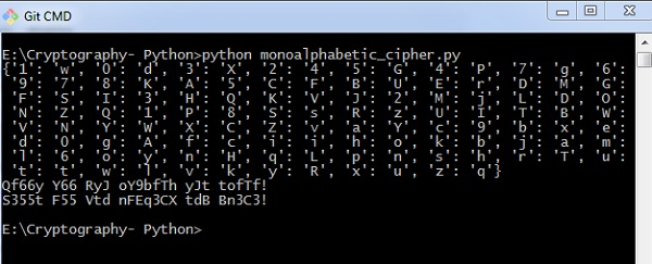 Cryptography with Python - Quick Guide