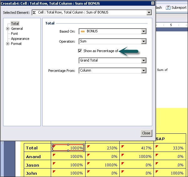 Crystal Reports - Quick Guide - Tutorialspoint