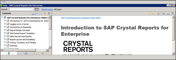 Crystal Reports Enterprise