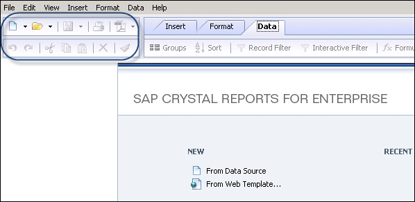 Crystal Reports Quick Guide