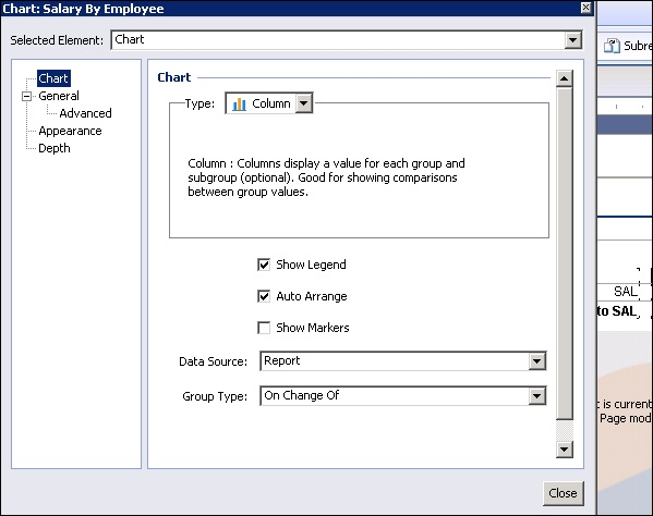 Crystal Reports - Quick Guide