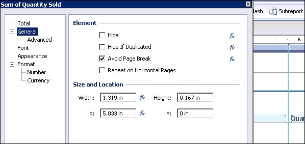 Crystal reports quick guide crystal reports templates maxwellsz