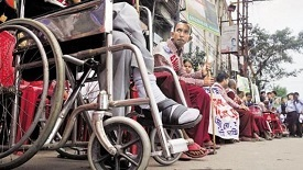 physically challenged People