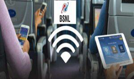 BSNL Licence For Flights WiFi