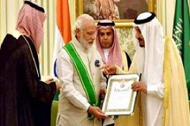 PM Modi Order of Zayed