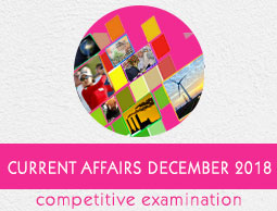 Current Affairs December 2018