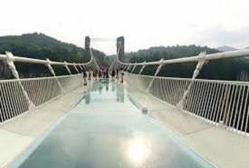 Glass Floor Suspension Bridge