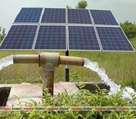 Solar Power operated Mini-Water Supply