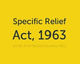 Specific Relief Act 1963