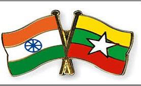 India and Myanmar