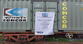 First Container Train