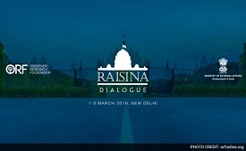 Raisina Dialogue in New Delhi