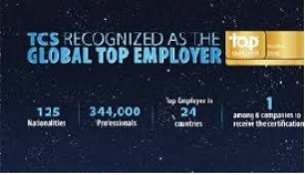 TCS Top Global Employer