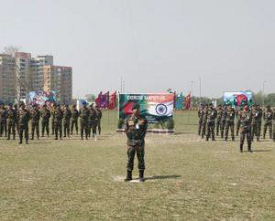 Indo-Bangladesh Joint Military Exercise
