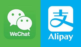 Alipay and WeChat