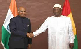 India and Guinea