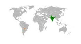 India and Paraguay