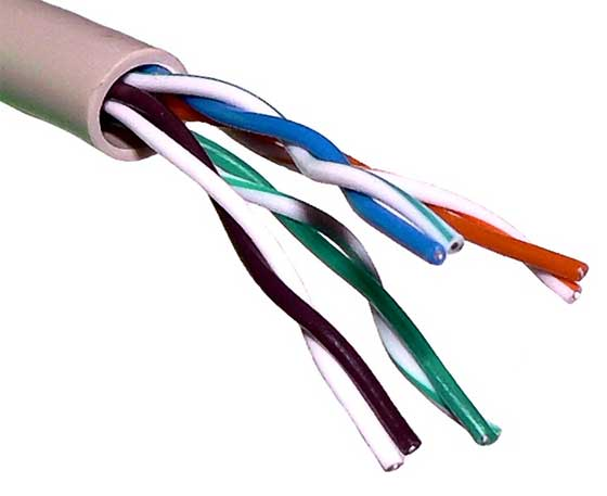 There Are Two Types Of Twisted Pair Cables