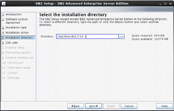 DB2 - Server Installation