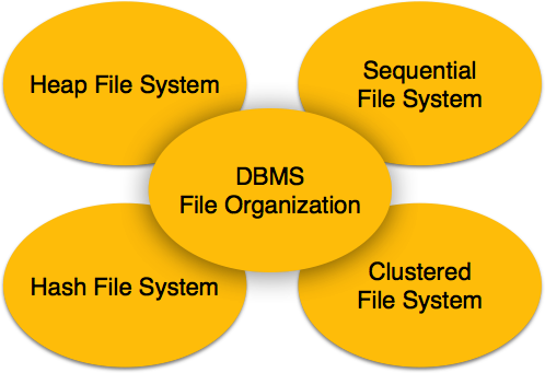 File system Organization in dbms