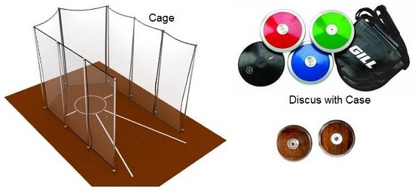 Discus Throw Equipment