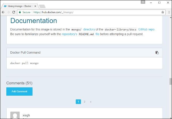Docker - Setting MongoDB - Tutorialspoint