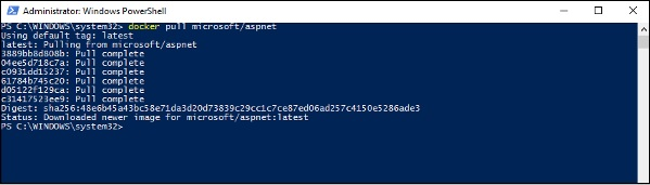 Microsoft/Aspnet Image