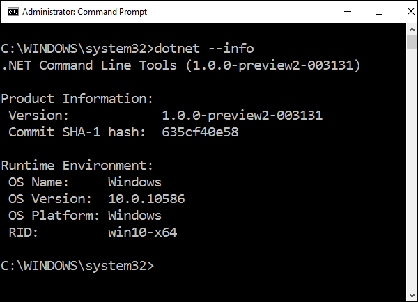 Command Line Tools