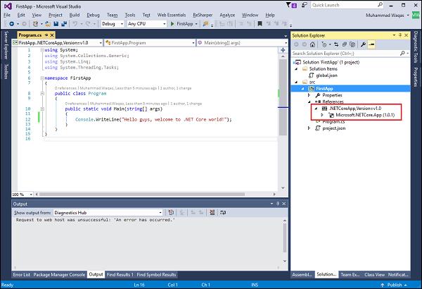 .Net Core App