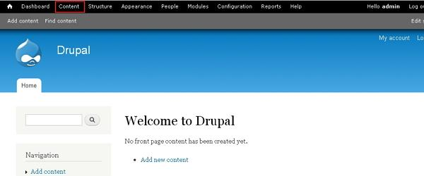 drupal create pages