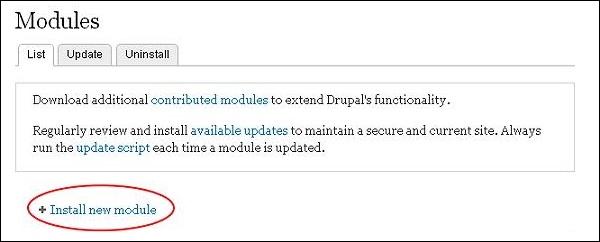 Drupal - Extension