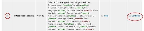 Drupal Internationalization