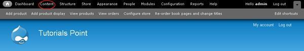 Drupal Modify Content