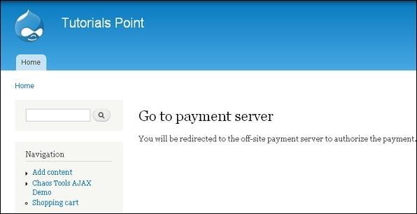 Drupal Setup Payments