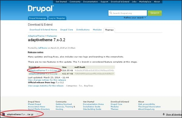 Drupal - Quick Guide - Tutorialspoint